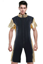 Top Totty High Quality Fatal Attraction Front Zip Men's Catsuit