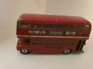 VINTAGE-CORGI-TOYS-289-LONDON-TRANSPORT-DOUBLE-DECKER-ROUTEMASTER-BUS-OUTSPAN