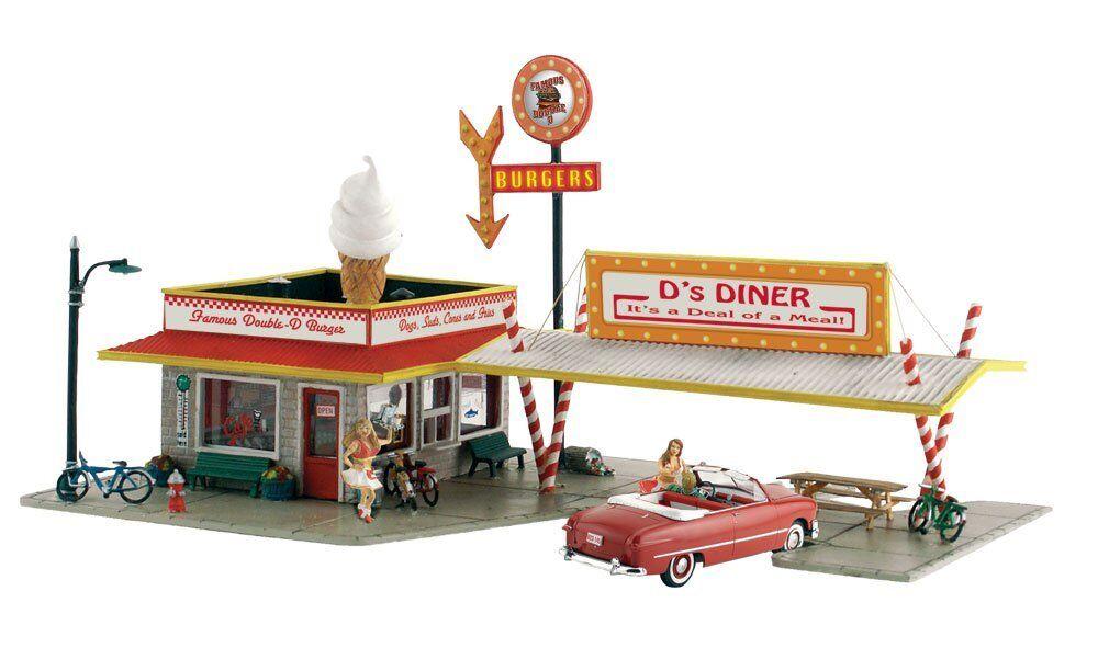 Woodland scenics pf5188 h0 restaurante d /'s Diner