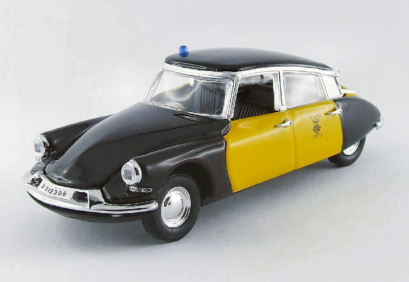 CITROEN ds19 taxi Barcelone 1969 1 43 MODEL rio4394  rio  offrant 100%