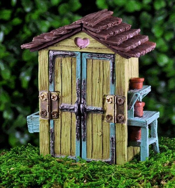 Hobbit House Shed: Miniature Fairy Backyard Garden Shed For Sale Online