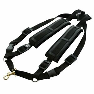 BG-S40CMSH-Men-039-s-Alto-Tenor-Baritone-Saxophone-Comfort-Harness-Metal-Snap-Hook