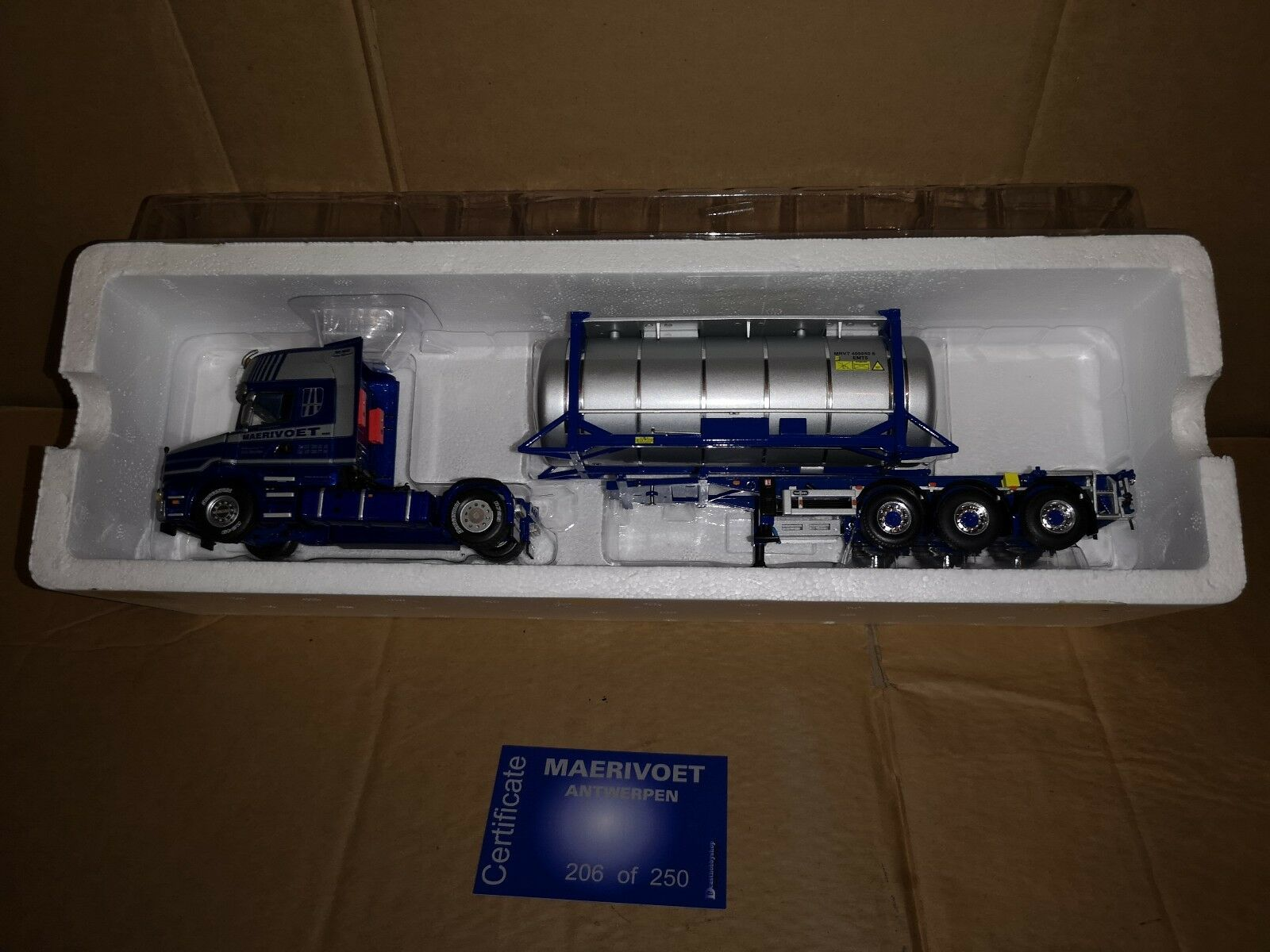 WSI Scania T Cab & Swap Container And Trailer- Maervoet