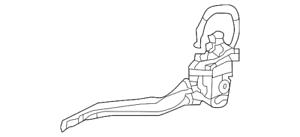 Genuine Kia Door Latch Assembly 81310-C5010