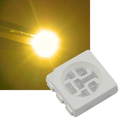 20 Stück LED 5050 PLCC-6 SMD RGB 3-Chip steuerbar