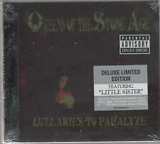 QUEENS OF THE STONE AGE LULLABIES TO PARALYZE CD+DVD DELUXE LTD ED. SIGILLATO!!!