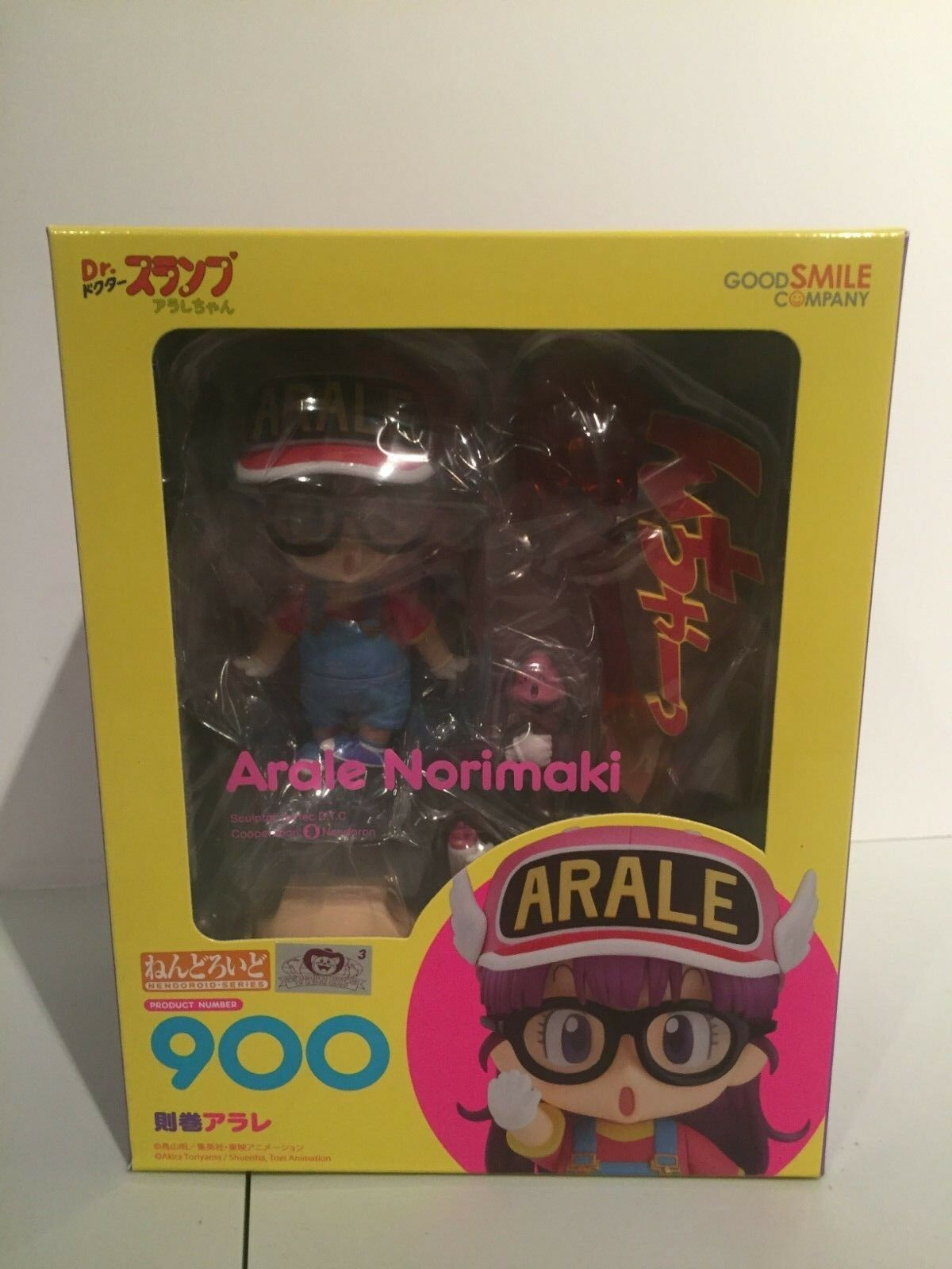 Nendgoldid figure   Arale Norimaki from Dr. Slump   New in box by Good Smile