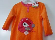 NWT DP...am DPAM Sleeper 12 Months Orange Deer Polka Dots One Piece