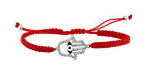 Kabbalah-Red-String-Bracelet-with-Hamsa-Protection-Hand-and-Enamelled-Evil-Eye