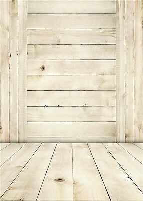 Wooden Floor Photo Backdrop Baby Child Vinyl Photography Background Studio 5x7ft