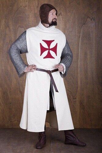 Details about  /MEDIEVAL TEMPLAR KNIGHT Tunic Surcoat Crusader Sleeveless Renaissance LARP