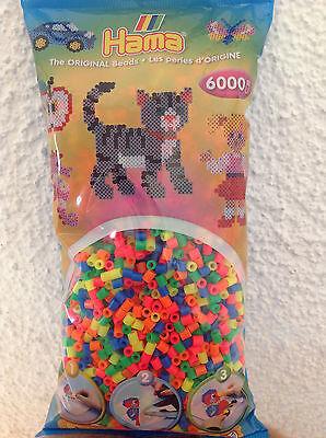 6000 Hama midi Bügelperlen - versch. Mischungen / Einzelfarben - 5mm Durchmesser