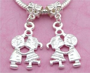 30pcs-Silver-Tone-Plated-Lovers-Dangle-Charms-For-European-Bracelet-SY52