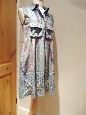 Ritu Kumar Anthroplogie Label Tunic Indian Dress Embroidered Anokhi Style 10-12