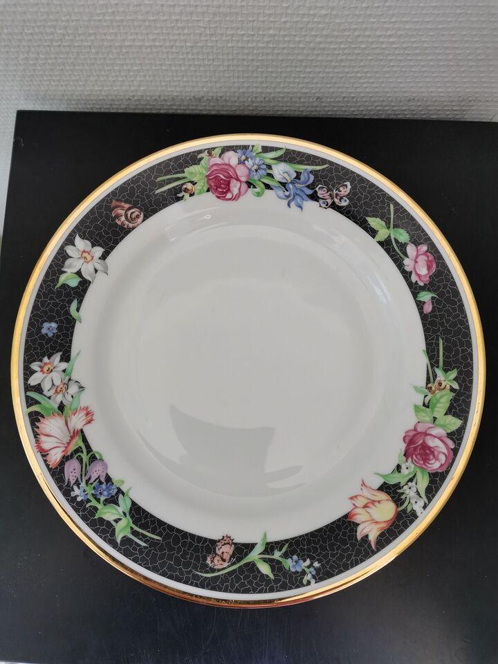 Porcelæn, Middags tallerkener, Christineholm