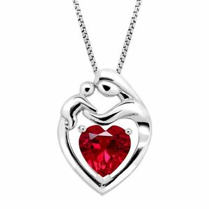 2-1-5-ct-Created-Ruby-Mother-amp-Child-Pendant-in-Sterling-Silver