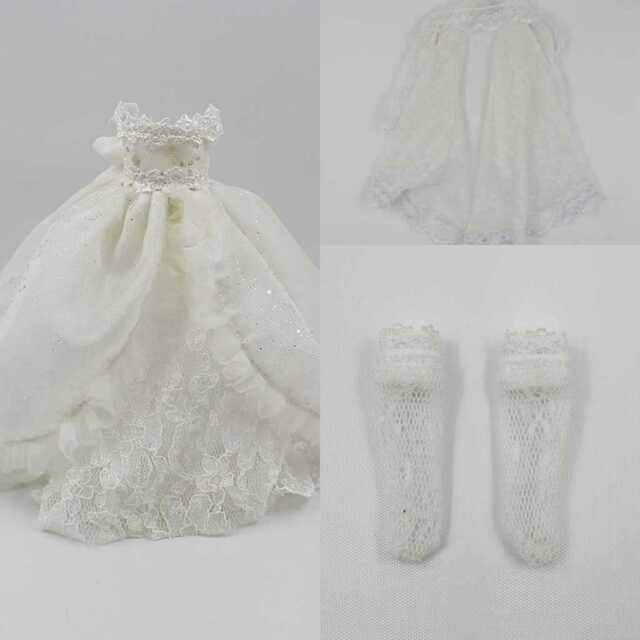 Blythe Nude Doll Bridal Gown from factory