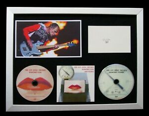 RED-HOT-CHILI-PEPPERS-SIGNED-FRAMED-CALIFORNICATION-100-GENUINE-FAST-WORLD-SHIP