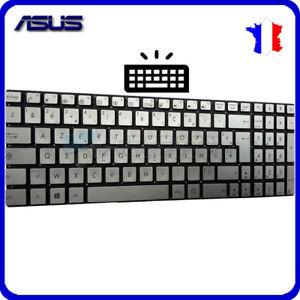 Clavier-Francais-Original-Asus-ROG-Strix-GL702VMK-Argent-Backlit