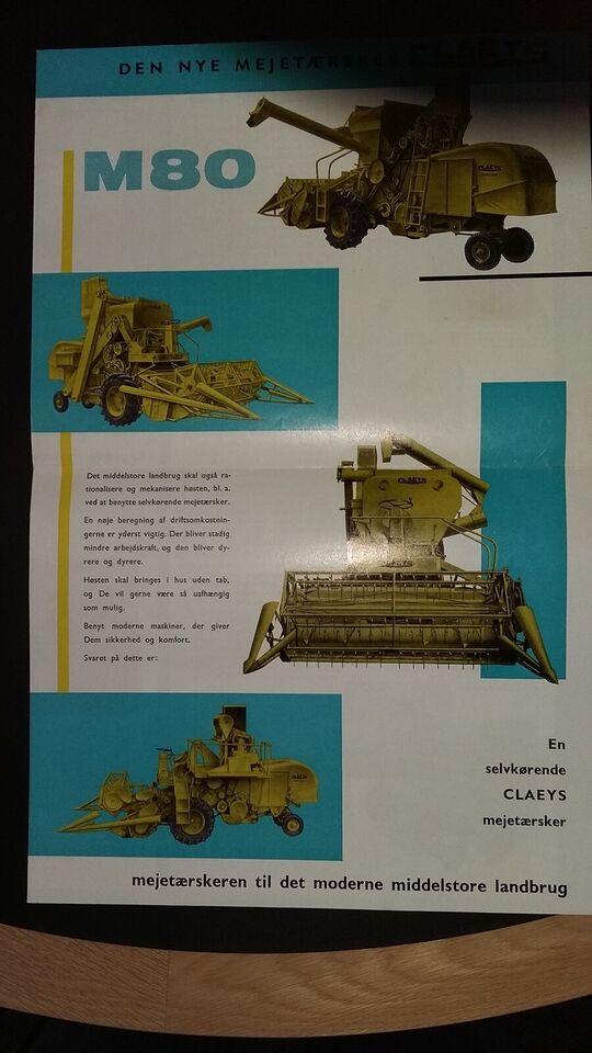 Andre samleobjekter, Claeys brochure