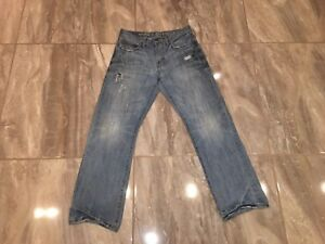 Levi-039-s-514-Levis-Jeans-MENS-32-X-32-JEANS-Distressed