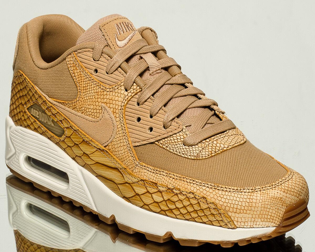Nike Air Max 90 Premium Leather men lifestyle kicks NEW vachetta tan AH8046-200