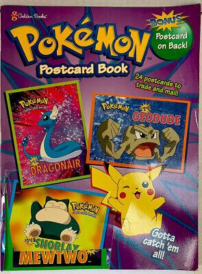 Pokemon Postcard Book