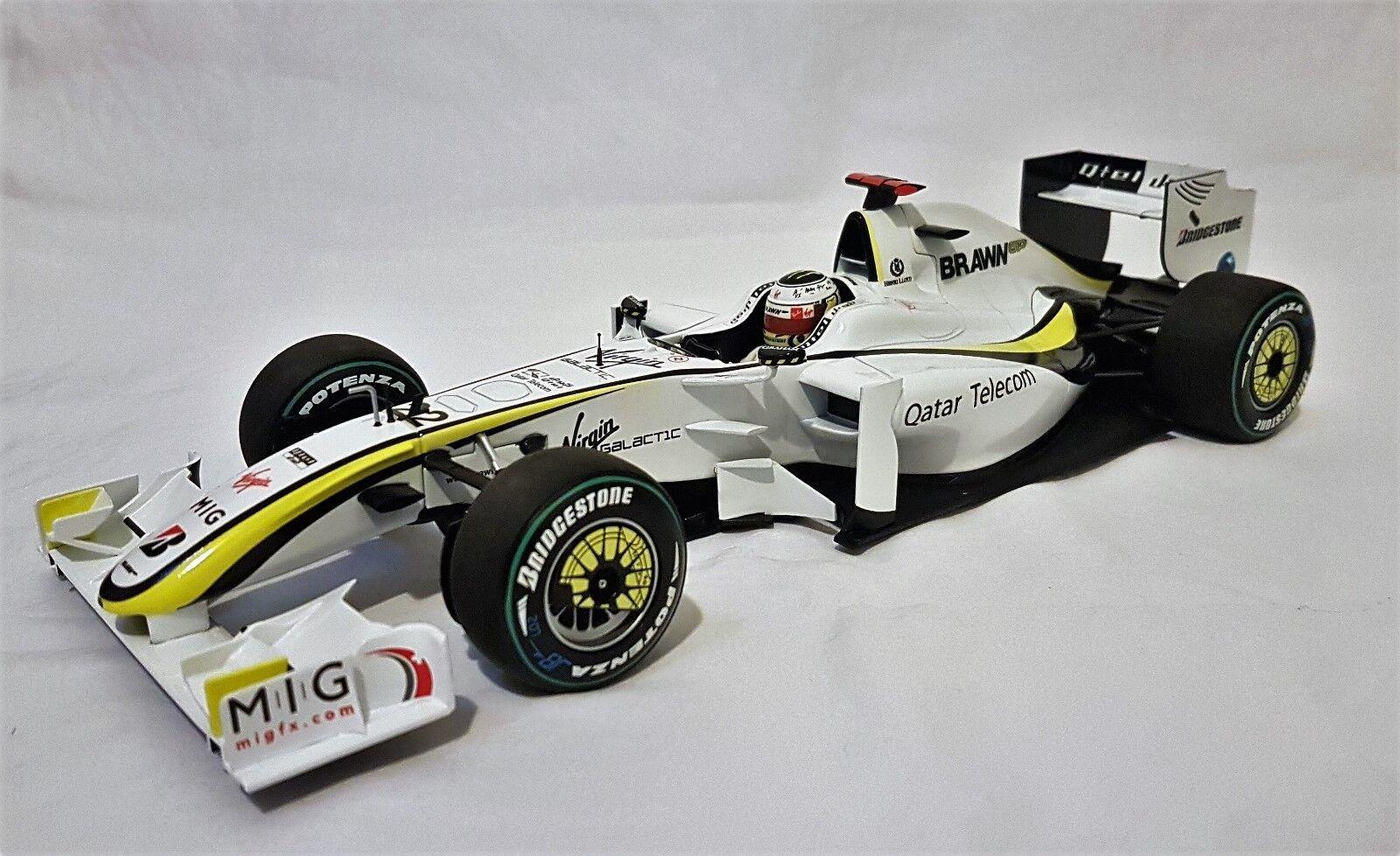 Minichamps 186090022 - Brawn GP BGP001 Jenson Button World Champion