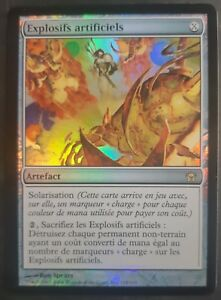 Explosifs-artificiels-VF-PREMIUM-FOIL-French-Engineered-Explosives-Magic-mtg