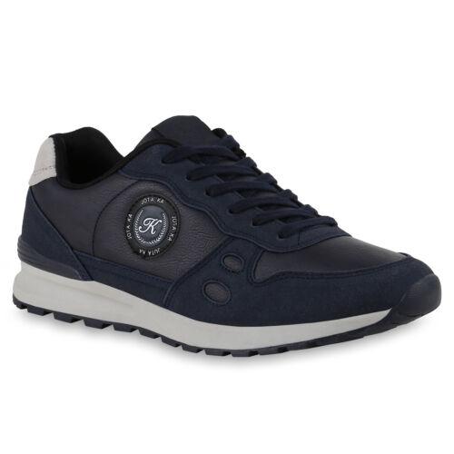 Herren Sportschuhe Profil Turnschuhe Fitness Sneaker 824110 Trendy Neu