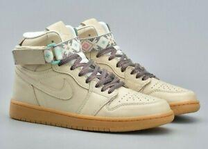 f726a13faa6f Mens Nike AIR JORDAN 1 RETRO HI STRAP N7 Shoes -AR4410 207 -RARE -Sz ...