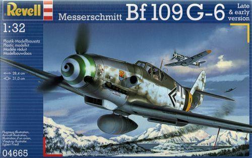 Messerschmitt Bf-109G 4665 1:32 Revell