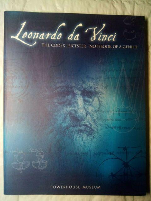 LEONARDO DA VINCI, THE CODEX LEICESTER-NOTEBOOK OF GENIUS-POWERHOUSE MUSEUM 2000