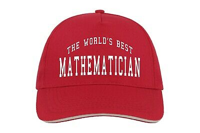 World/'s Best Maths enseignant Baseball Hat Cap Cadeau Mathématiques Enseigner Cool Job