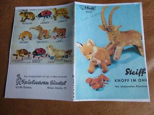 Neueste Kollektion Von Steiff Knopf Im Ohr - Katalog Kad 63 - Von 1963 - Reproduktion - Selten