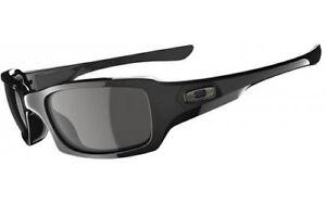 Oakley-Men-039-s-Fives-Squared-OO9238-04-Rectangular-Sunglasses-Polished-Black-54