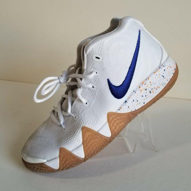 Nike Kyrie 4 Boys Size 6y White Blue