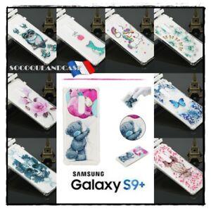 Etui-housse-coque-Transparentes-TPU-Case-Cover-Samsung-Galaxy-S9-plus-G965