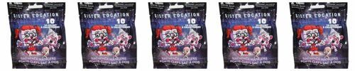 Five Nights at Freddy/'s Sister Location Backpack Hangers Clip-On Lot of 5