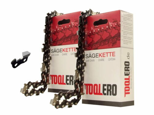 2x50cm Toolero Profi VM Kette für Oleo-Mac 970 Motorsäge Sägekette 3//8 1,5