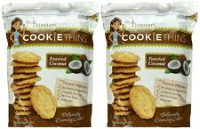 2 Packs Mrs Thinsters Coconut Cookie Thins 16 OZ Pack
