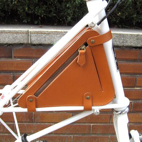 Naborsa Moulton marco de la bicicleta bolso de cuero genuino Moulton Tsr Bolsa 3 Colors
