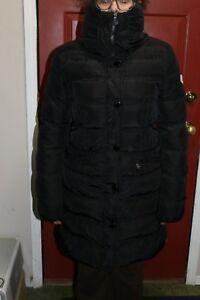 Size-2-Moncler-Adour-Giubbotto-black-down-filled-coat-jacket-parka