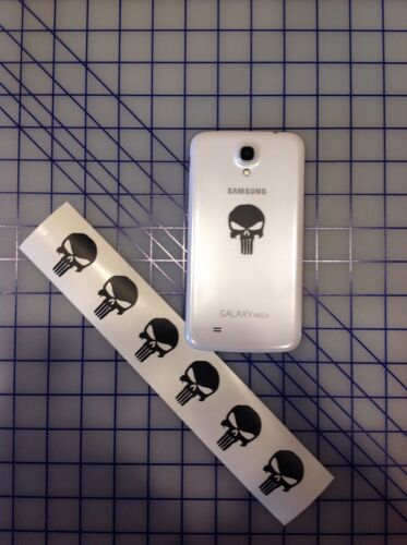 """12 PUNISHER AMERICAN SNIPER SKULL CELL PHONE iPOD DIE CUT DECAL STICKER 1.5/""""x 1/"""""""