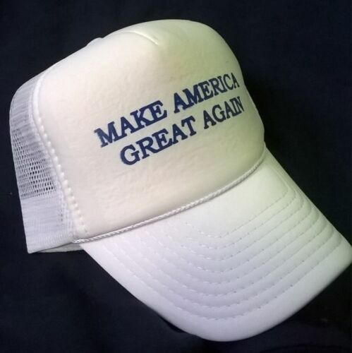 Trump LOWEST PRICE MAKE AMERICA GREAT AGAIN   White Foam Front HAT