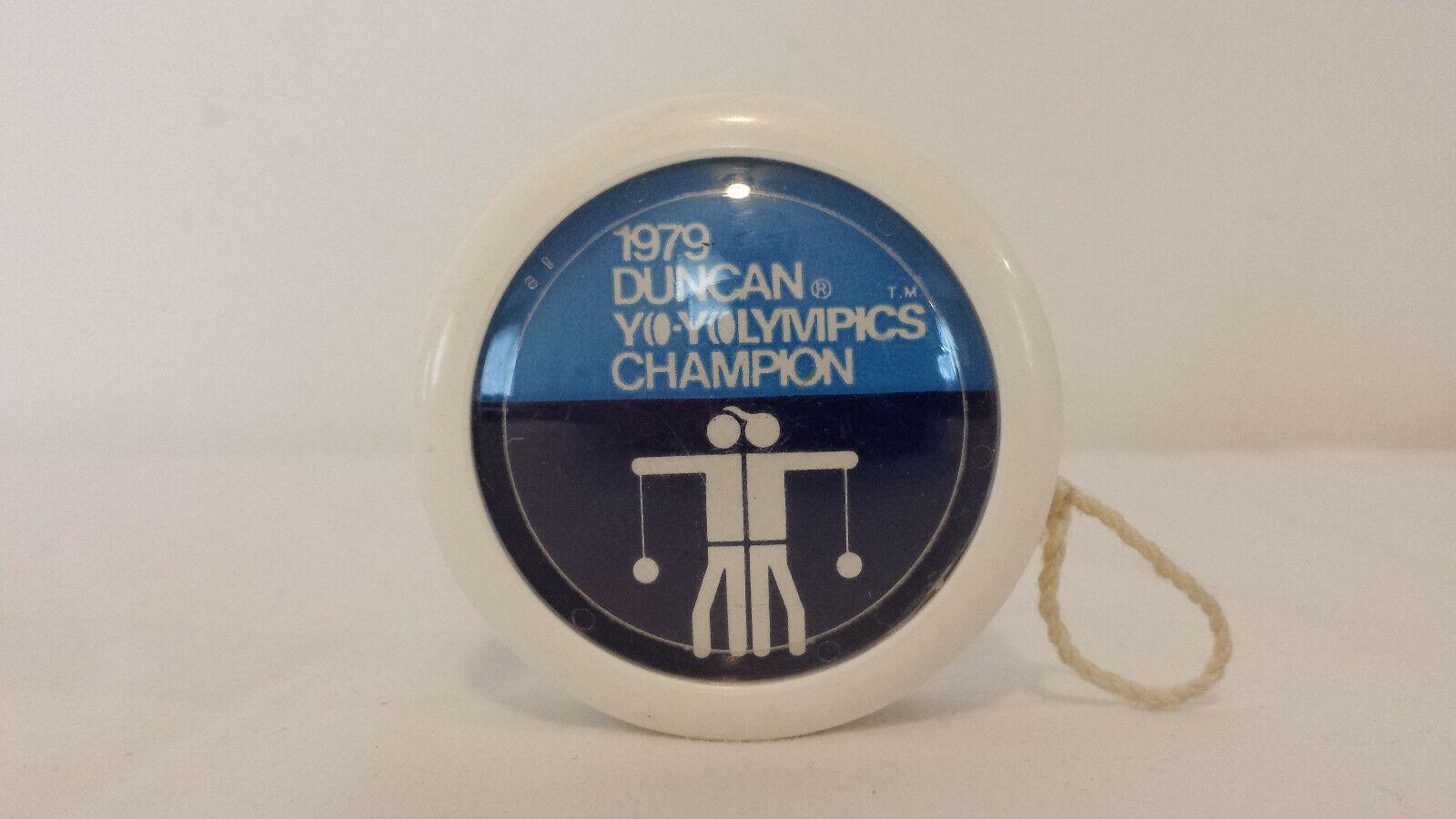 Vintage 1979 Duncan Yo-Yolympics Champion Yo-Yo