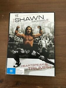 WWE-THE-SHAWN-MICHAELS-STORY-DVD-EXCELLENT-CONDITION-WRESTLING-ACTION-3-DISCS