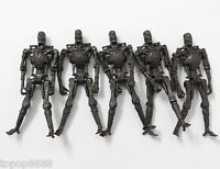LOT OF 4 Playmates Toys Terminator Salvation - T 700 Endoskeleton - 3.75""