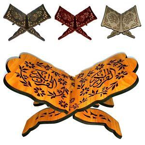 Koranstander-Koranhalter-Coran-Support-Rihal-Rehal-Bois-Arabe-Muslim-Priere