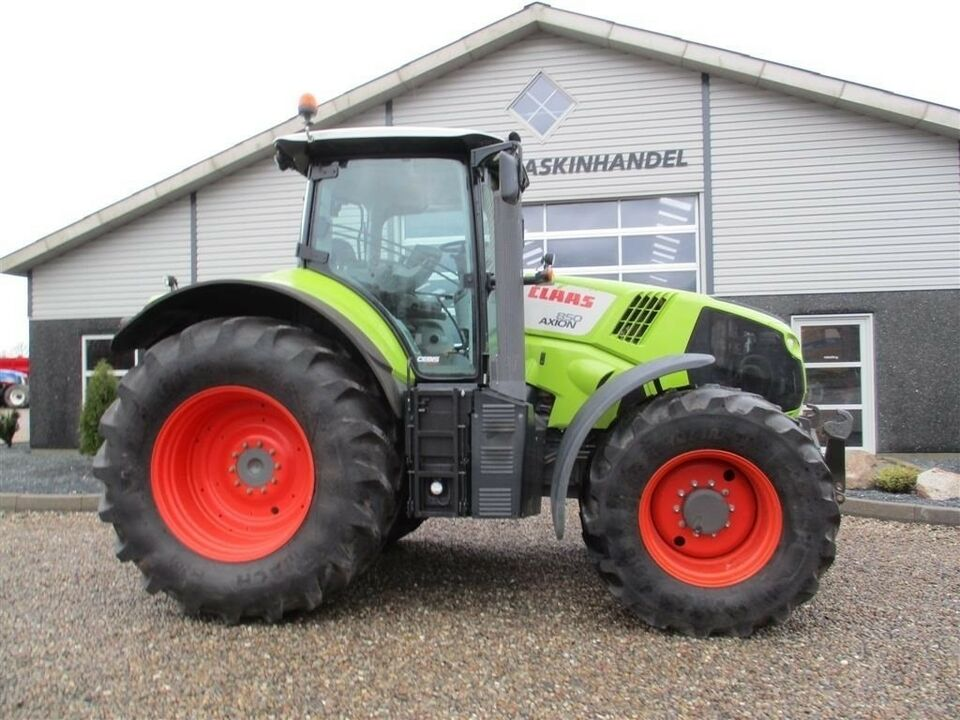 CLAAS, AXION 850 Cebis med frontlift, timer 4306